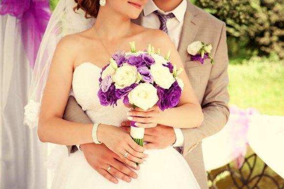 novia el día del matrimonio