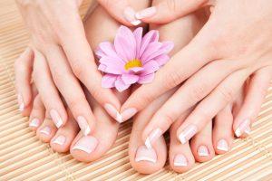 Secretos para humectar manos y pies