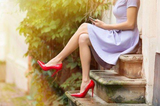 pies perfectos durante el verano