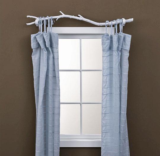 C mo colgar barras de cortina - Barras de cortina ...