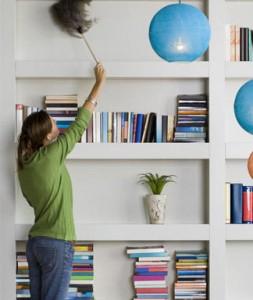 Lustrando los muebles con conciencia verde