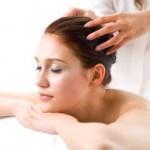 Masajes para el pelo