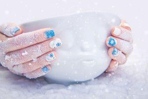 Manos perfectas en invierno