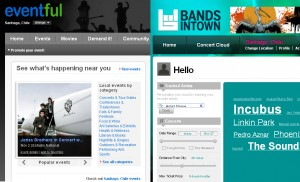 Bandsintown.com y Eventful.com