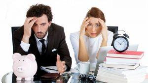 Errores financieros más comunes