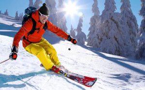 La nieve, el ski y los ojos