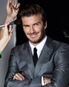 David Beckham en su nueva faceta