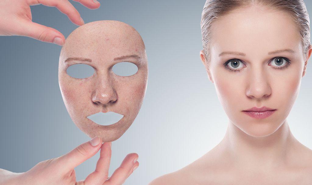 Esconde las arrugas del rostro