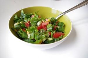 Menos estrés: Dieta vegetariana