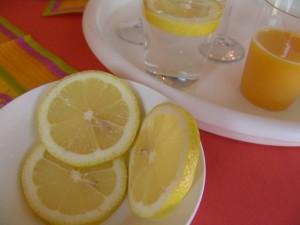 Limón para desintoxicar