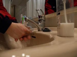 El jabón antibacterial perjudica la salud