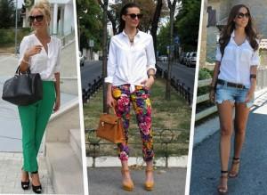 Camisa blanca: ¿Cómo combinar esta infaltable prenda?