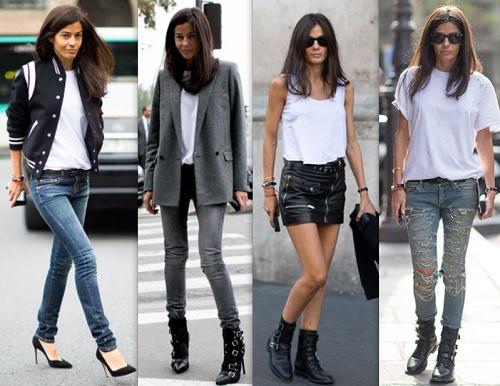 Ideas para vestir con una camiseta blanca belleza y alma for Ideas para vestir