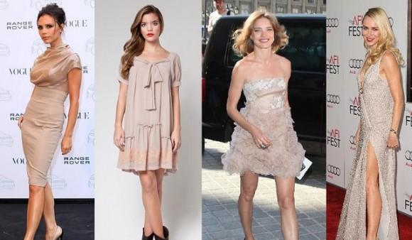 ¿Qué accesorios debes utilizar para un vestido nude