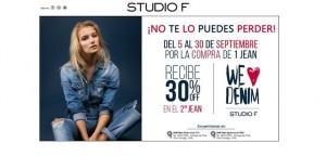 STUDIO F LANZA VENTA ESPECIAL DE SUS JEANS DE CALCE PERFECTO