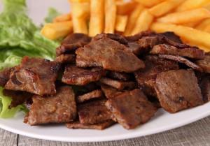 Consumir un plato de Lomo a lo Pobre,  equivale a Una hora y media de Trote
