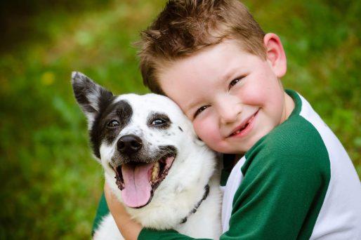 Cómo elegir un perro para niños