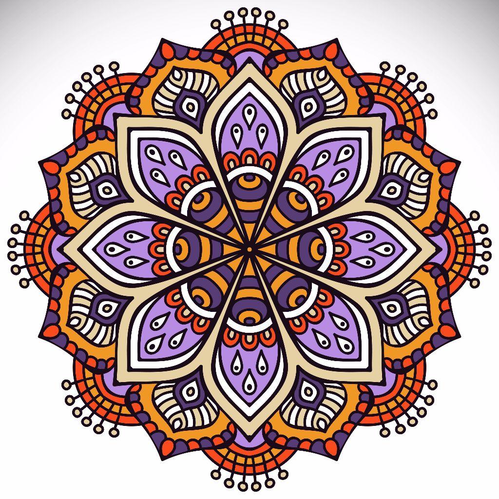 El poder terap utico de los mandalas belleza y alma - Colores para mandalas ...
