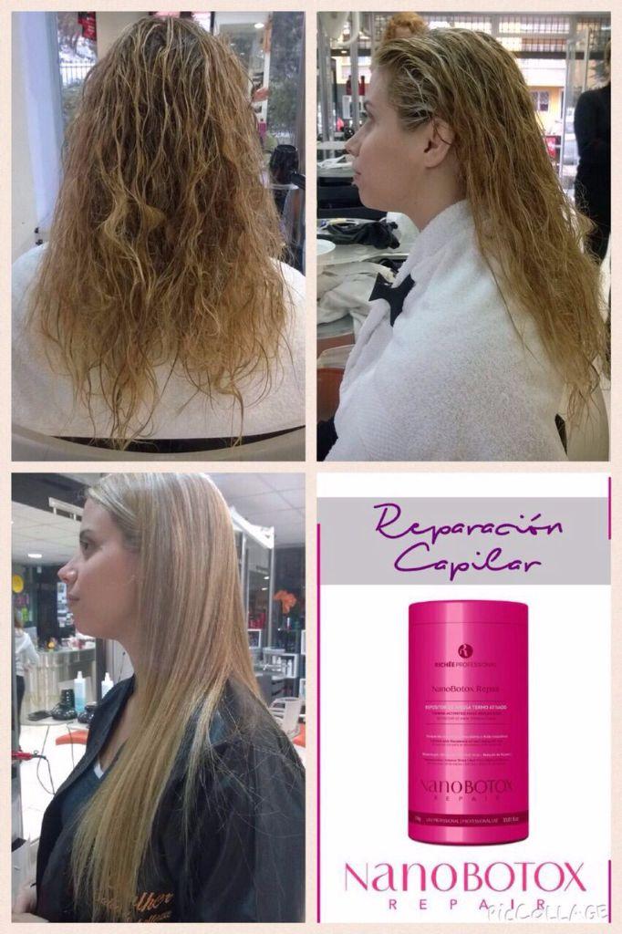 Botox acido hialuronico cabello
