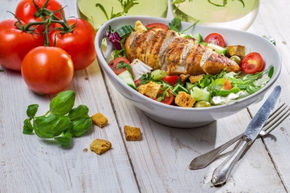 plato de pavo de recetas saludables