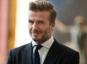 Beckham, el primer famoso con una línea de belleza
