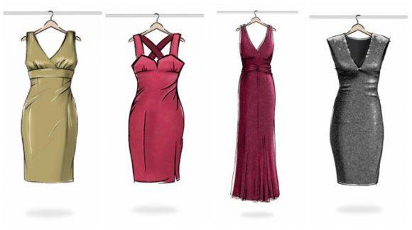 El brasier ideal según el corte del vestido